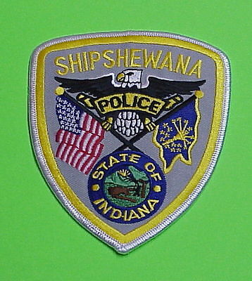 Shipshewana  Indiana  In   Police Patch   Free Shipping!!!