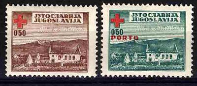 2161 YUGOSLAVIA 1947 Red Cross **MNH
