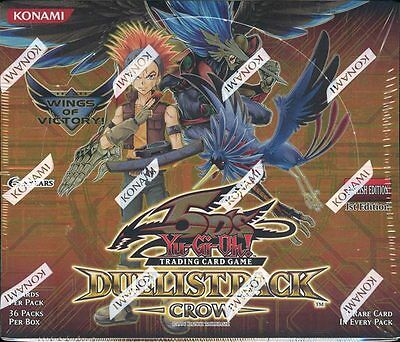 Yugioh Crow Duelist Pack Booster Box Blowout Cards