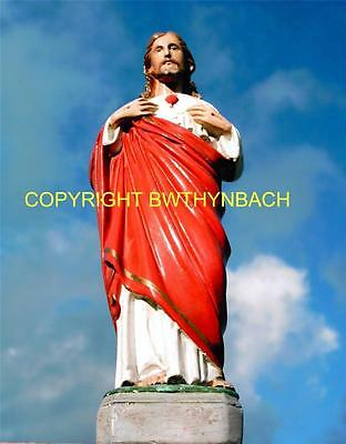New Rubber Latex Mould Moulds Mold To Make Religious Statue Jesus Sacred Heart