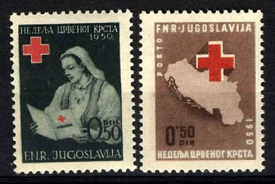 2198 YUGOSLAVIA 1950 Red Cross **MNH