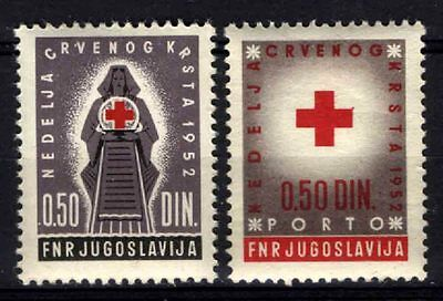 2230 YUGOSLAVIA 1952 Red Cross **MNH