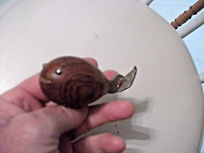 "COOL! Collectible MID CENTURY MODERN Teak ""WHALE"" Bottle Opener-NR"