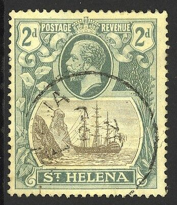 St. Helena Used #stanley Gibbons 100A Outstanding