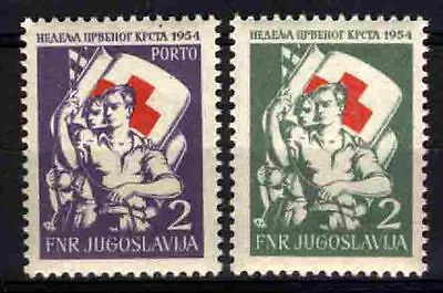 2250 YUGOSLAVIA 1954 Red Cross **MNH