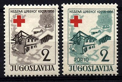 2270 YUGOSLAVIA 1956 Red Cross **MNH