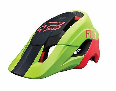 Fox 2016 Metah Graphics MTB XC Enduro DH Helmet - L/XL - Flo Yellow *SALE*