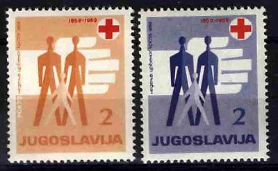 2303 YUGOSLAVIA 1959 Red Cross **MNH