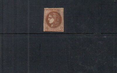 France 1870-71 2c mounted mint