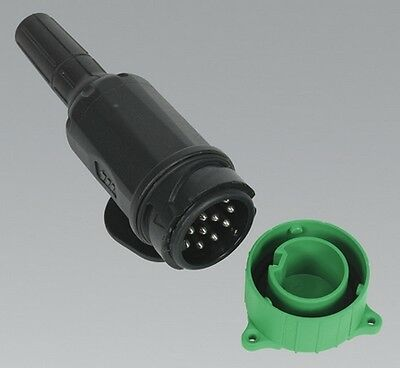 Sealey TB53 Towing Plug 13-Pin Euro Plastic 12V Protective Covering Towing
