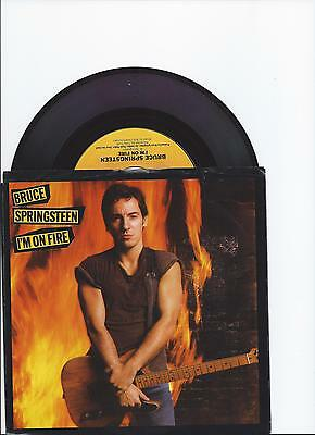 Bruce Springsteen I'm On Fire Single From Usa