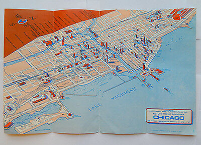 Chicago Picture Map by Perspecto (1975) [9x13.75]