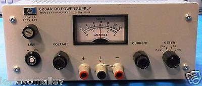 HP 6284A DC Power Supply 0-20V 0-3A Tested No Leads
