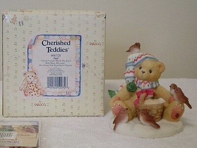 """Cherished Teddies """"PAUL"""" GOOD FRIENDS WITH MANY BLESSINGS-INDIVIDUALLY NUMBERED"""