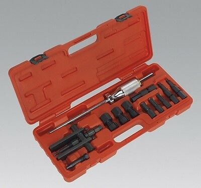 Sealey AK716 Blind Bearing Puller Set 12 Piece Tool Garage Workshop Equipment