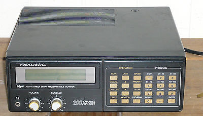 Realistic PRO 2022 Scanner/Communication receiver