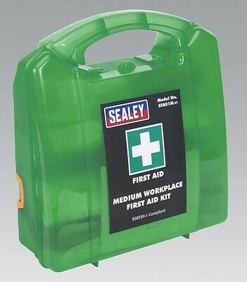 Sealey SFA01M First Aid Kit Medium Bs 8599 1 Compliant Safety Equipment