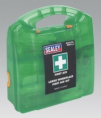 Sealey SFA01L First Aid Kit Large Bs 8599 1 Compliant Safety Equipment