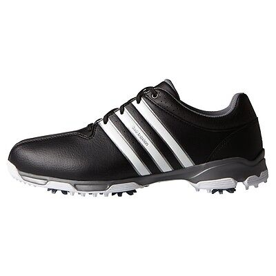 New Adidas 360 Traxion Mens Golf Shoes - Black - Pick Size
