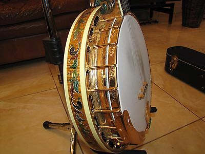 OME Artist 5 string Banjo – Renaissance - rare and superb example