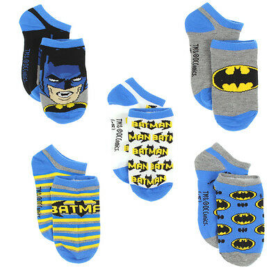 Batman Toddler Boys 5 pack Low Rise Socks BM5959 BM5959Z