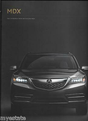 2014 14  Acura  RLX  original sales  brochure MINT