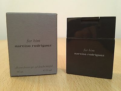 Narciso Rodriguez For Him 30 ml Shower Gel NEW