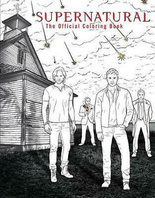 Supernatural: The Official Coloring Book by Insight Editions (English) Paperback
