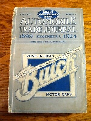 1924 Automobile Trade Journal Anniversary Issue 622 pgs Locomobile White Ford