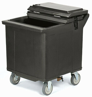"""Carlisle IC2254 Cateraid Mobile 29"""" Tall Ice Caddy w/ 4 Swivel Casters"""