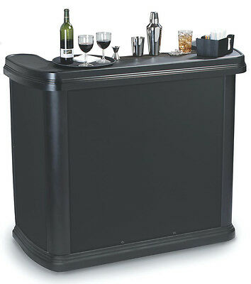 "Carlisle 7550** Maximizer Portable Bar W/ 56"" Wide Serving Area & Ice Bin"