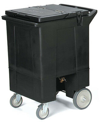 """Carlisle IC2250T03 Cateraid Mobile 36.5"""" Tall Ice Caddy w/ Casters"""