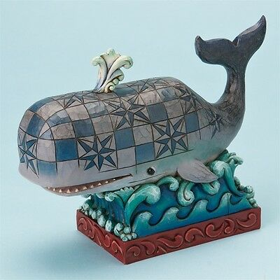 Jim Shore Whale*Ride the Wave*4016876*BRAND NEW IN BOX*RETIRED*