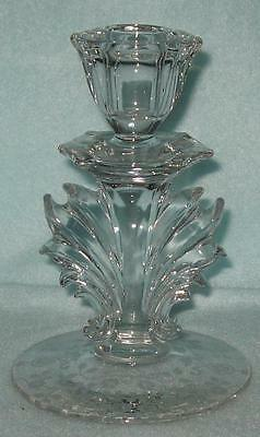 Fostoria Baroque Etched Candle Holder