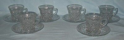 Imperial Cape Cod 6 Cups with Saucers
