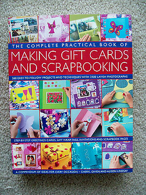 Complete Practical Book of Making Gift Cards and Scrapbooking By Owen & Lindsay