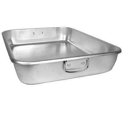 "Thunder Group ALRP9605 Double Roasting Pan Without Bottom 24"" x 18"" x 4 1/2"""