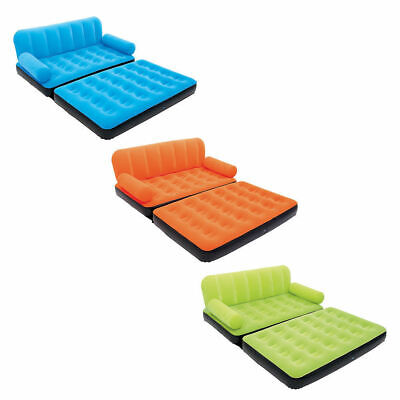 Bestway Inflatable Multi-Max Double Air Bed Mattress Couch Sofa with AC Pump