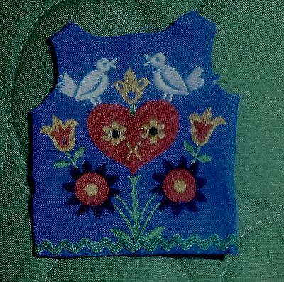 Vintage Skipper FUN TIME Embroidered Top NM Condition