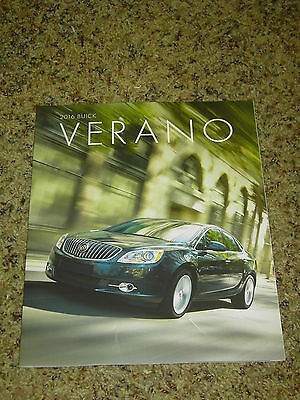 2016 Buick Verano Brochure Mint! 36 Pages