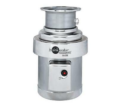 In-Sink-Erator 2 Hp Stainless Commercial Disposer With Mounting Gasket - Ss-200