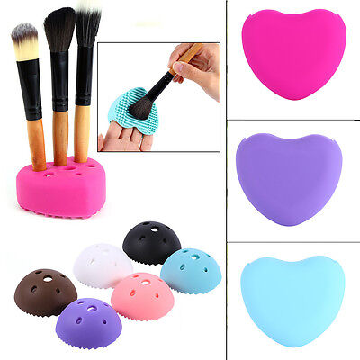 New Pro Stylish Silicone Cosmetic Makeup Brush Cleaner Tool Set Beauty Popular