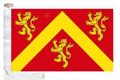 Anglesey Ynys Môn County Courtesy Boat Flag Roped & Toggled