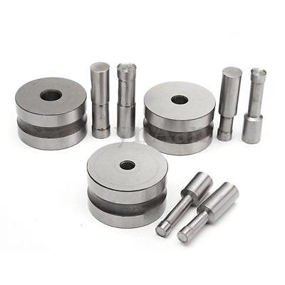 6/8/10mm Tablet Stamp Die Punch Mold Kit For Tablet Pill Press Machine TDP 5 New