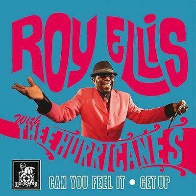 "ROY ELLIS WITH THE HURRICANES * Can You Feel It + Get Up 7"" neu*Mr. Symarip*"