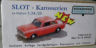Ford 12m P4  -   Slot Karosse   von bs-design 1:24 / 25