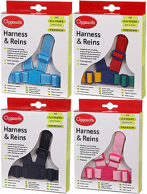 Clippasafe PREMIUM HARNESS&REINS Child/Kids/Toddler Travel Safety Easy-Walking