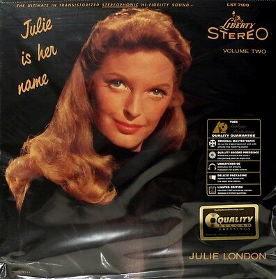 Julie Is Her Name - Quality Records - App-7100 - Julie London -  Volume 2