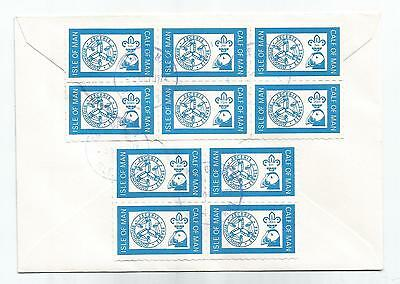 Calf Of Man 1972 Scouts Complete Set Of 10 On Cover