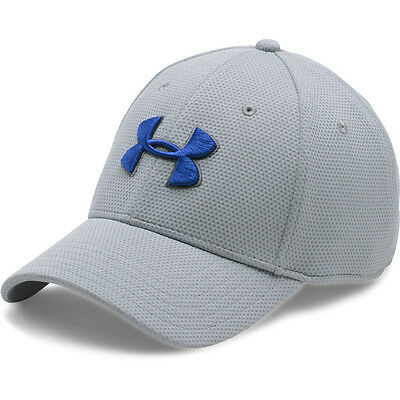 Under Armour Blitzing II Stretch Fit Cap Basecap Mütze Kappe gray 1254123-942